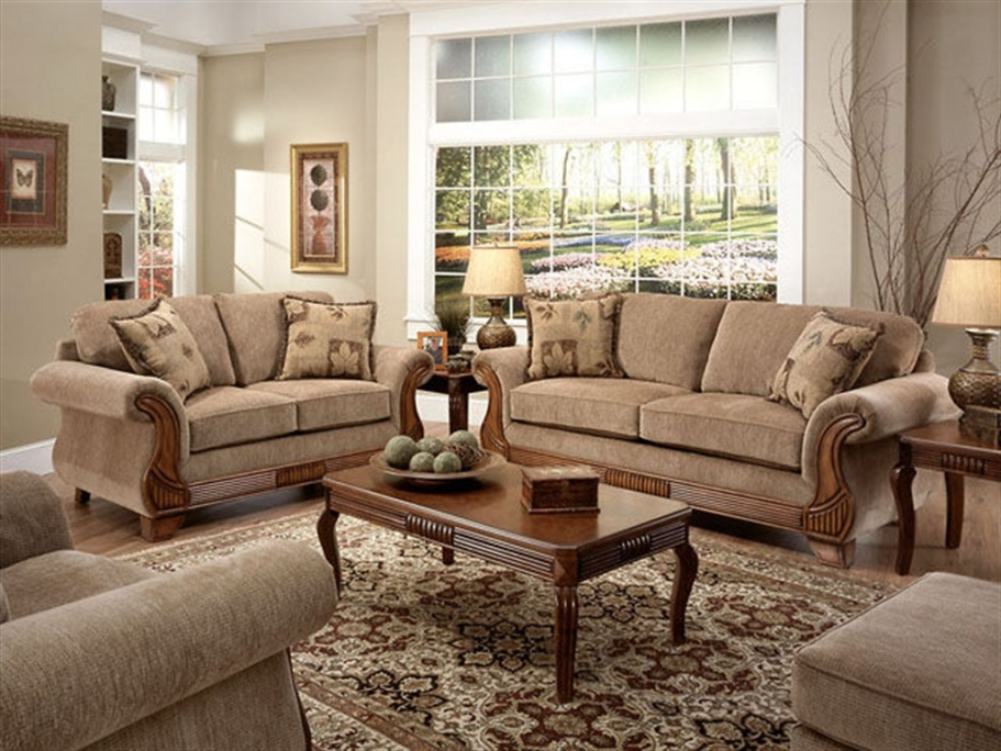 American living room furniture 9 decor ideas for Furnitures designs living room