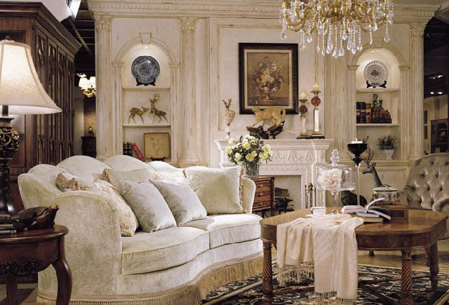 American living room sofas 32 decor ideas for Classic american decorating style