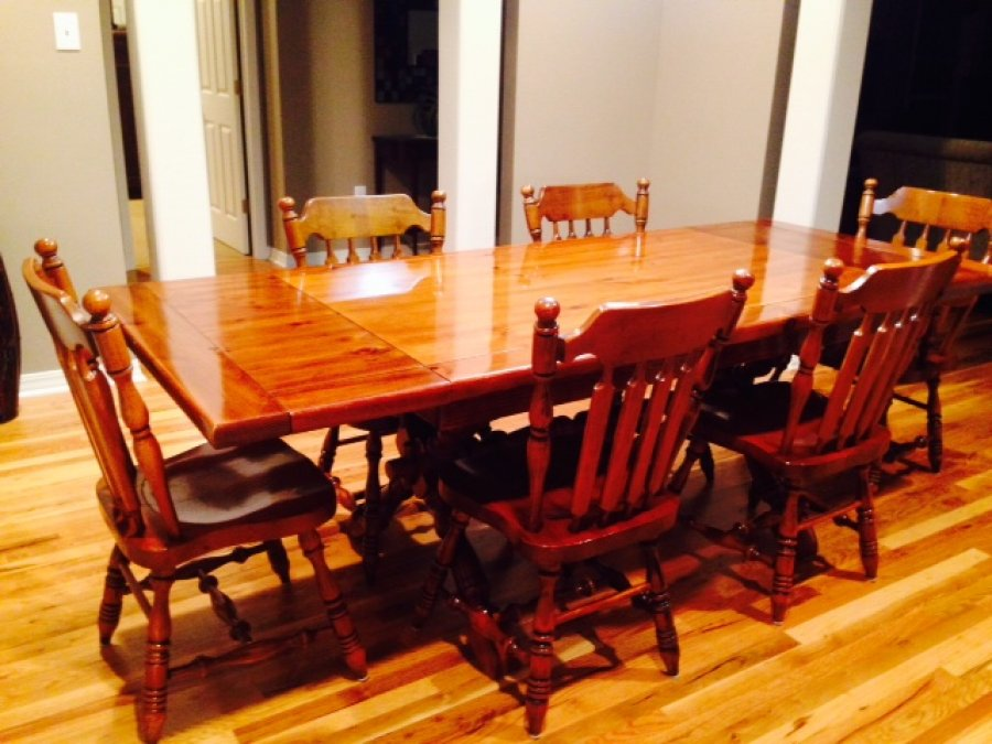 Early American Dining Room Sets Renovationg Ideas