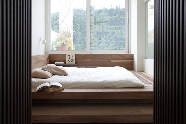 Modern Japanese Inspired Bedroom Renovating Ideas