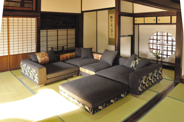 Modern Japanese Living Room Layout Remodeling Ideas