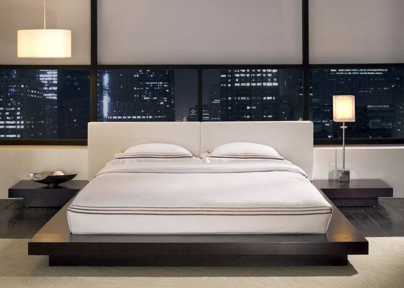 Modern Japanese Style Bedroom Furniture Decorating Ideas