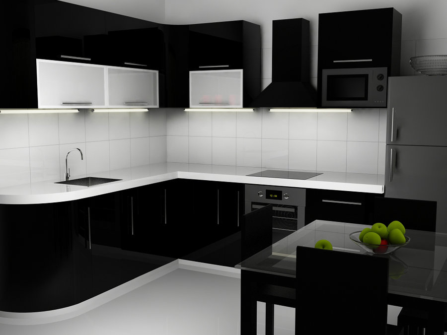 modern kitchen wallpaper download - photo #39