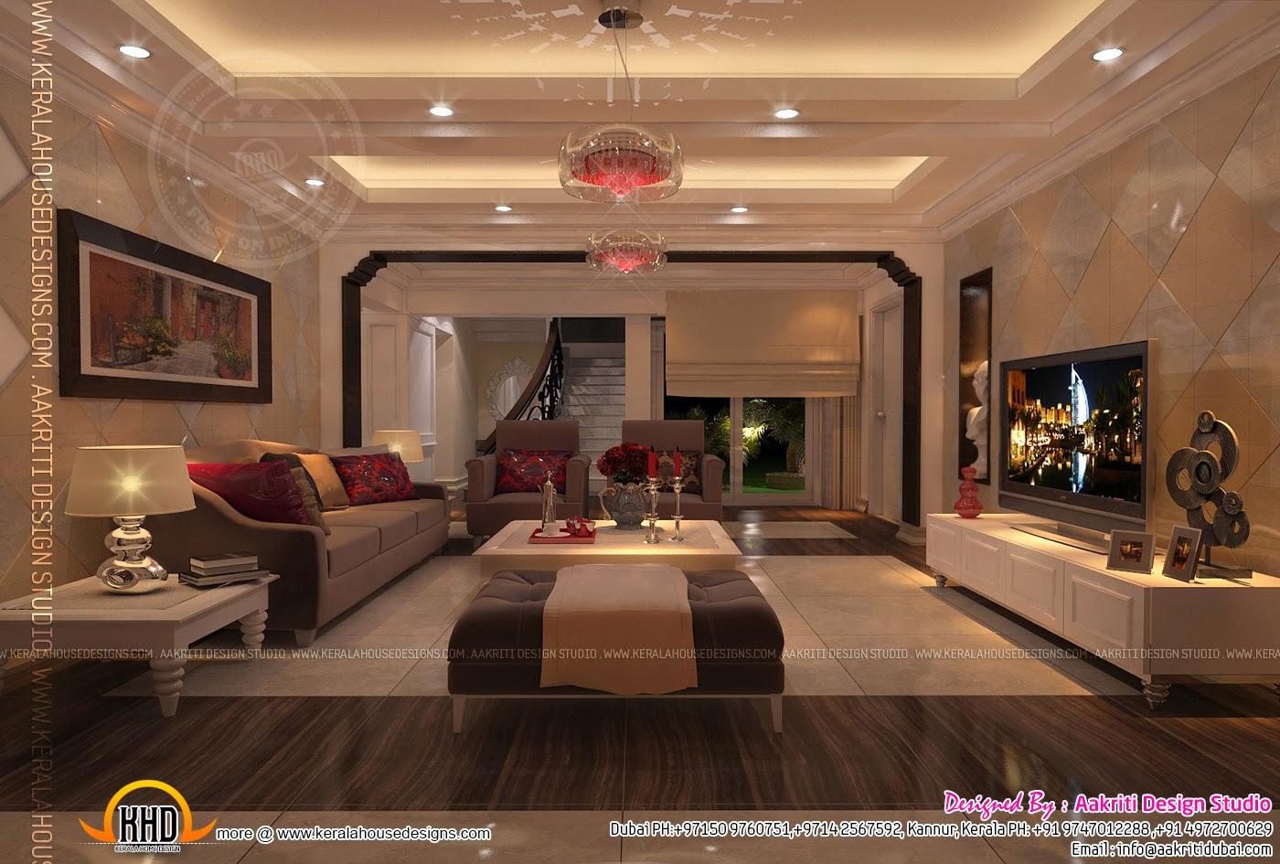 Living Room Designs In Dubai modern living room kerala style 27 design ideas - enhancedhomes