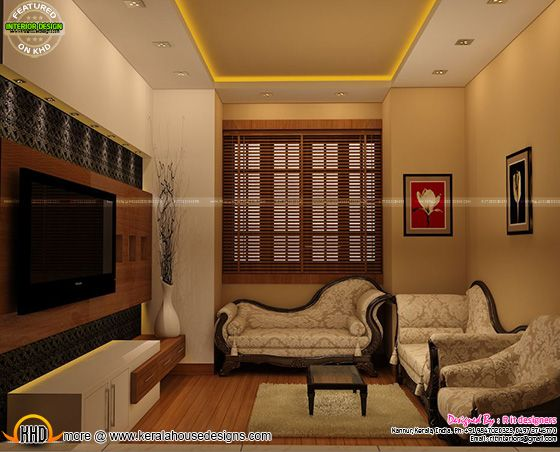 Modern living room kerala style 36 picture for Modern living room in kerala