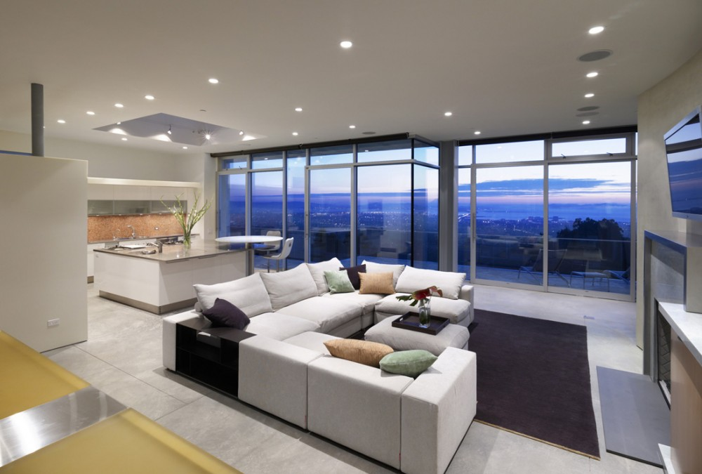 Modern Living Room Kitchen Remodeling Ideas