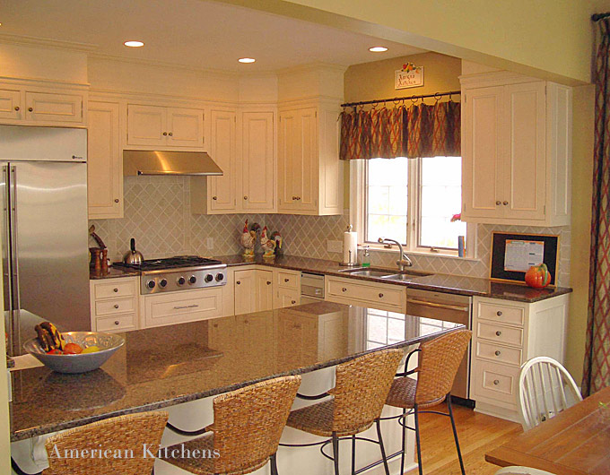 Early American Kitchen Design Ideas ~ Traditional american kitchen design inspiring