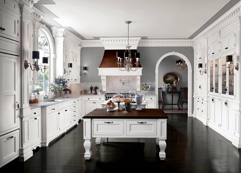 Traditional american kitchen design 26 architecture for American kitchen layout