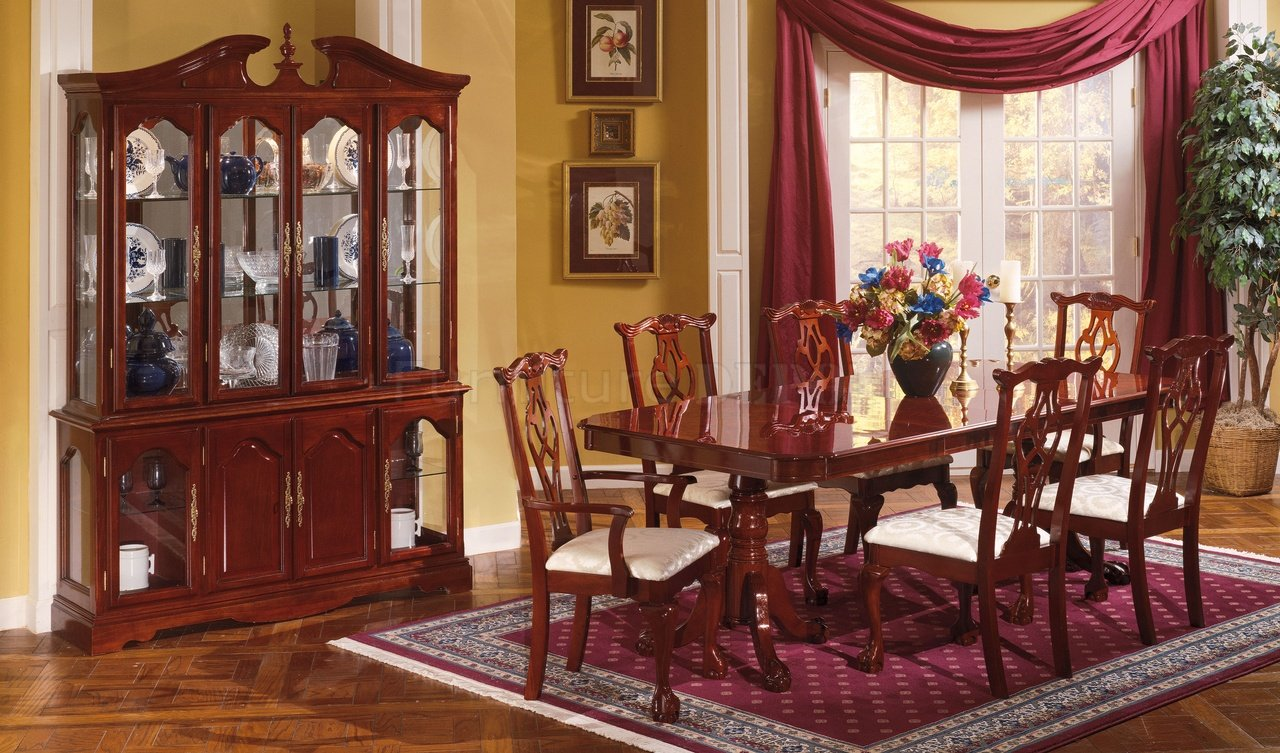 Traditional Dining Room Sets Cherry 10 Decor Ideas - EnhancedHomes.org