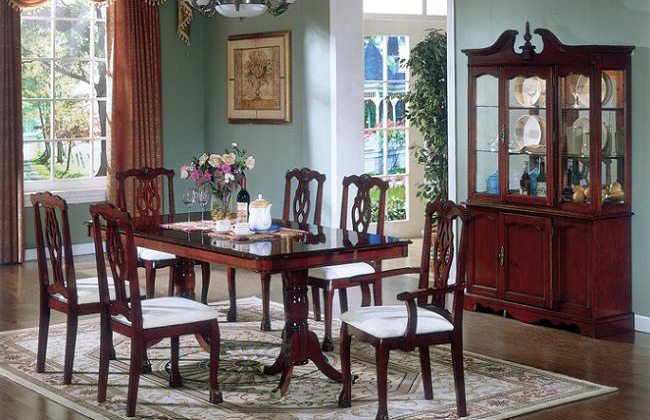 Traditional Dining Room Sets Cherry Renovationg Ideas