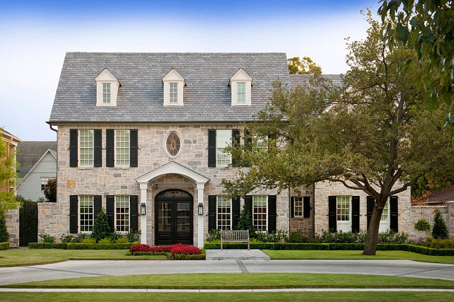 Traditional exterior homes 8 architecture for Traditional home exterior