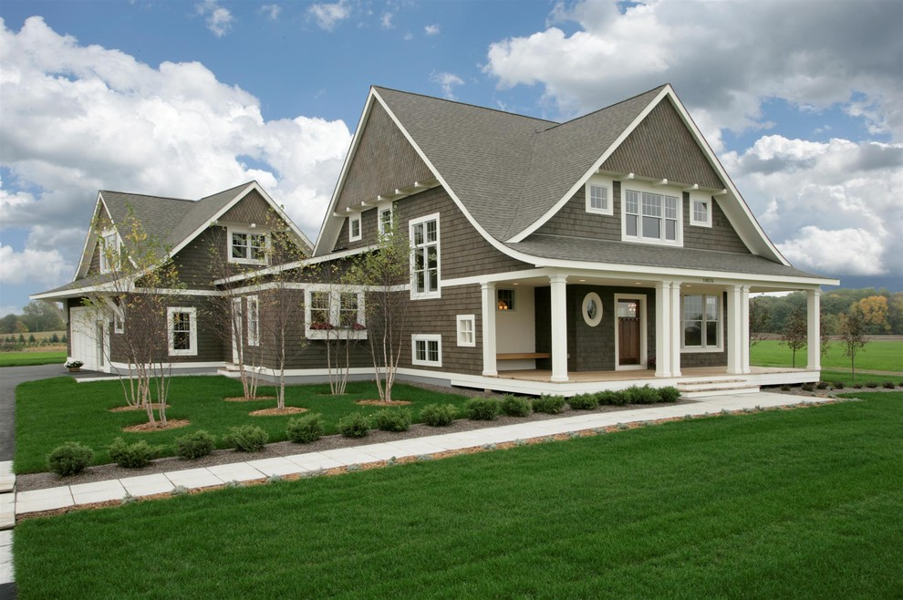 Charming Traditional Exterior House Renovating Ideas