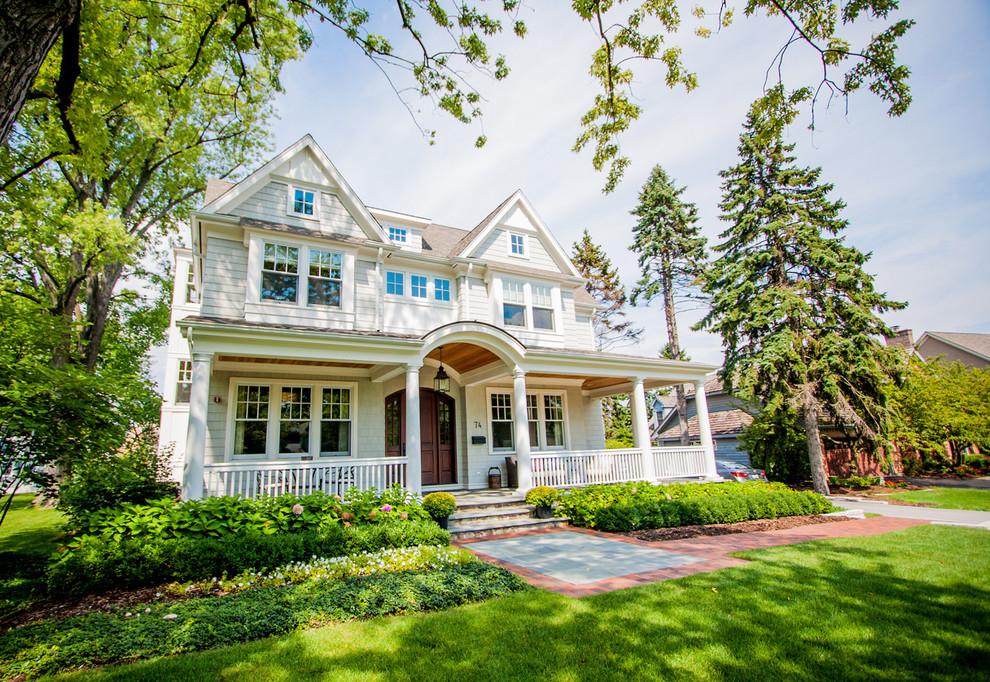 Traditional Exterior House Designs Renovating Ideas