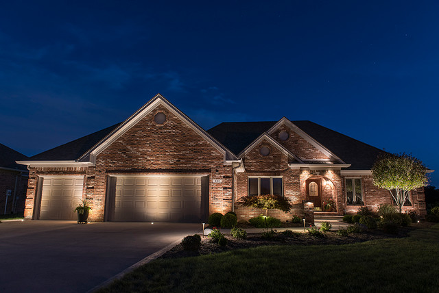 Traditional Exterior Lighting 1 Picture