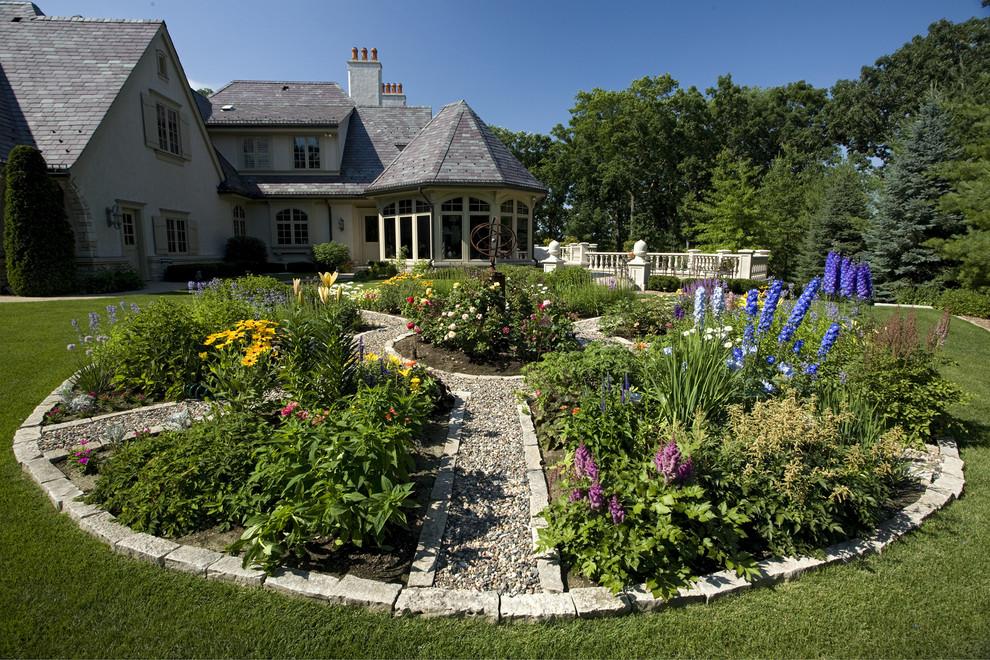 traditional garden layout  home ideas  enhancedhomes, Garden idea