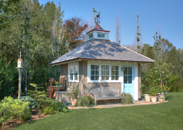 Traditional garden sheds 4 decoration idea for Traditional garden buildings