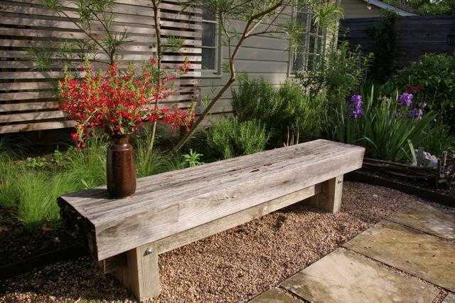 Japanese Style Bench ~ Traditional japanese garden bench inspiring design