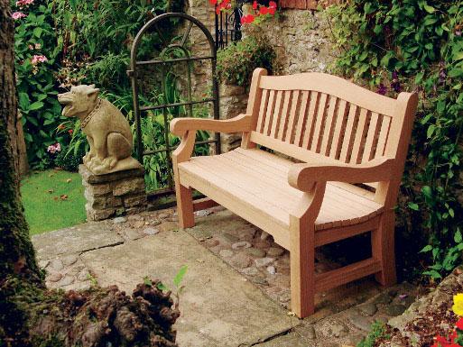 Traditional Japanese Garden Bench Renovating Ideas