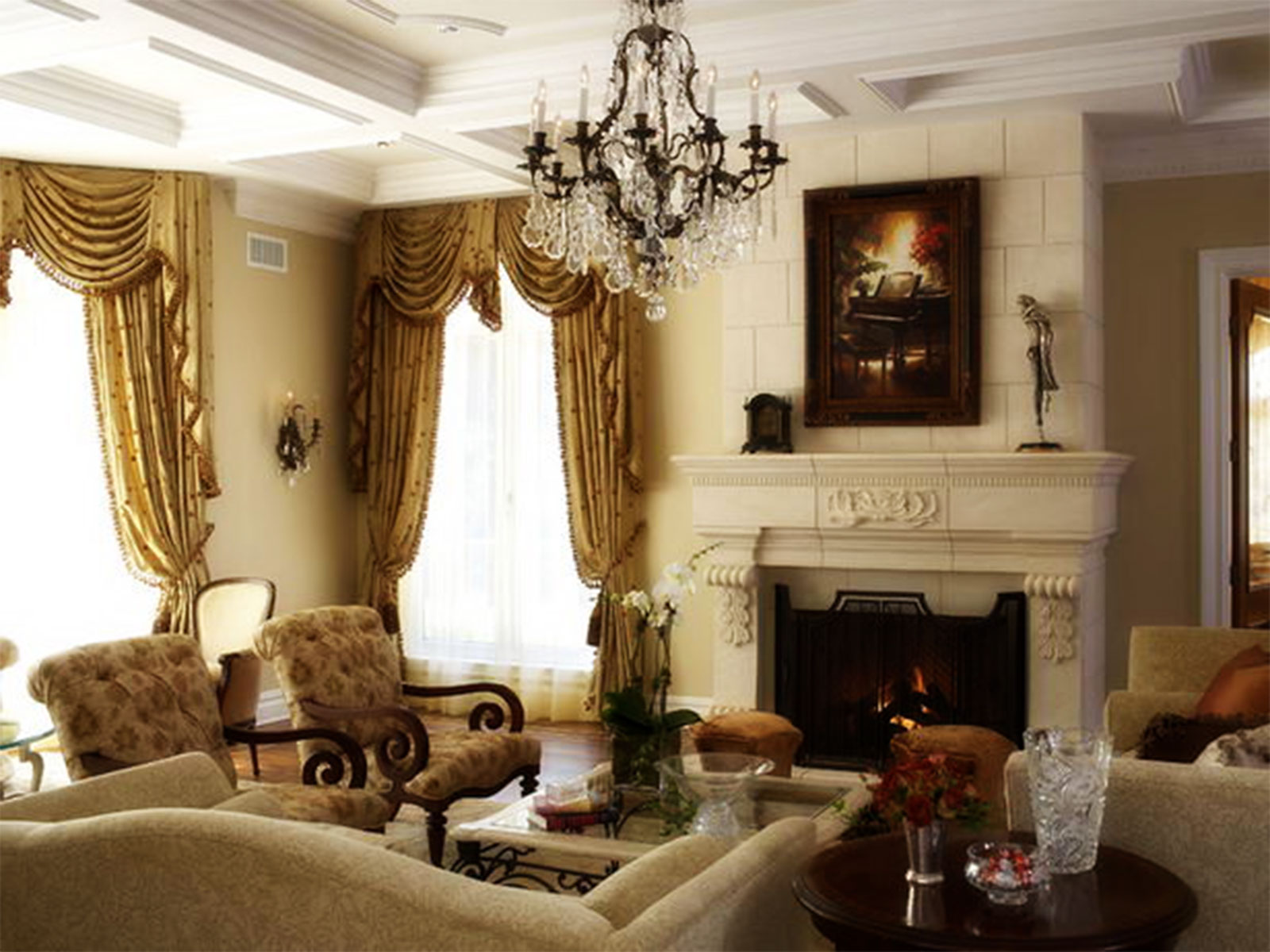 Traditional living room decor remodeling ideas