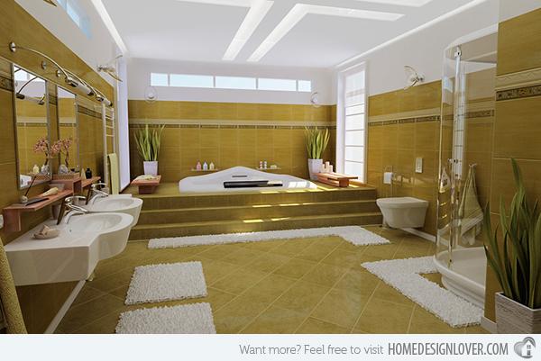 Big bathroom 42 arrangement for Bathroom arrangement designs