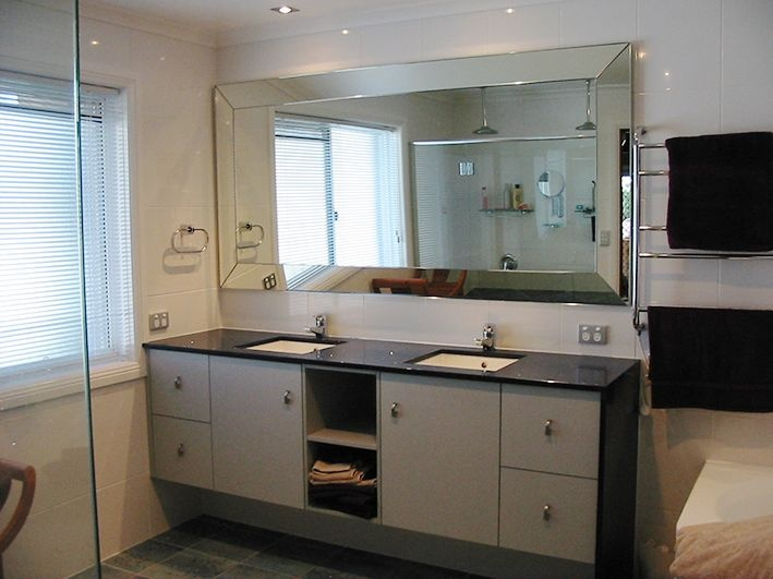 Big Bathroom Mirrors 2 Decor Ideas
