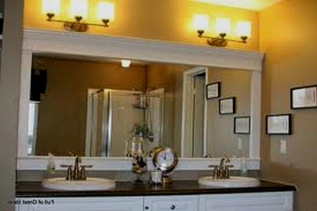 large bathroom mirror  bathroom bathroom designs wonderful modern  Bathroom  decor. Large Bathroom Mirrors   laptoptablets us