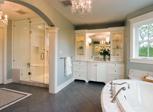Big bathrooms 5 decor ideas for Large bathroom designs pictures