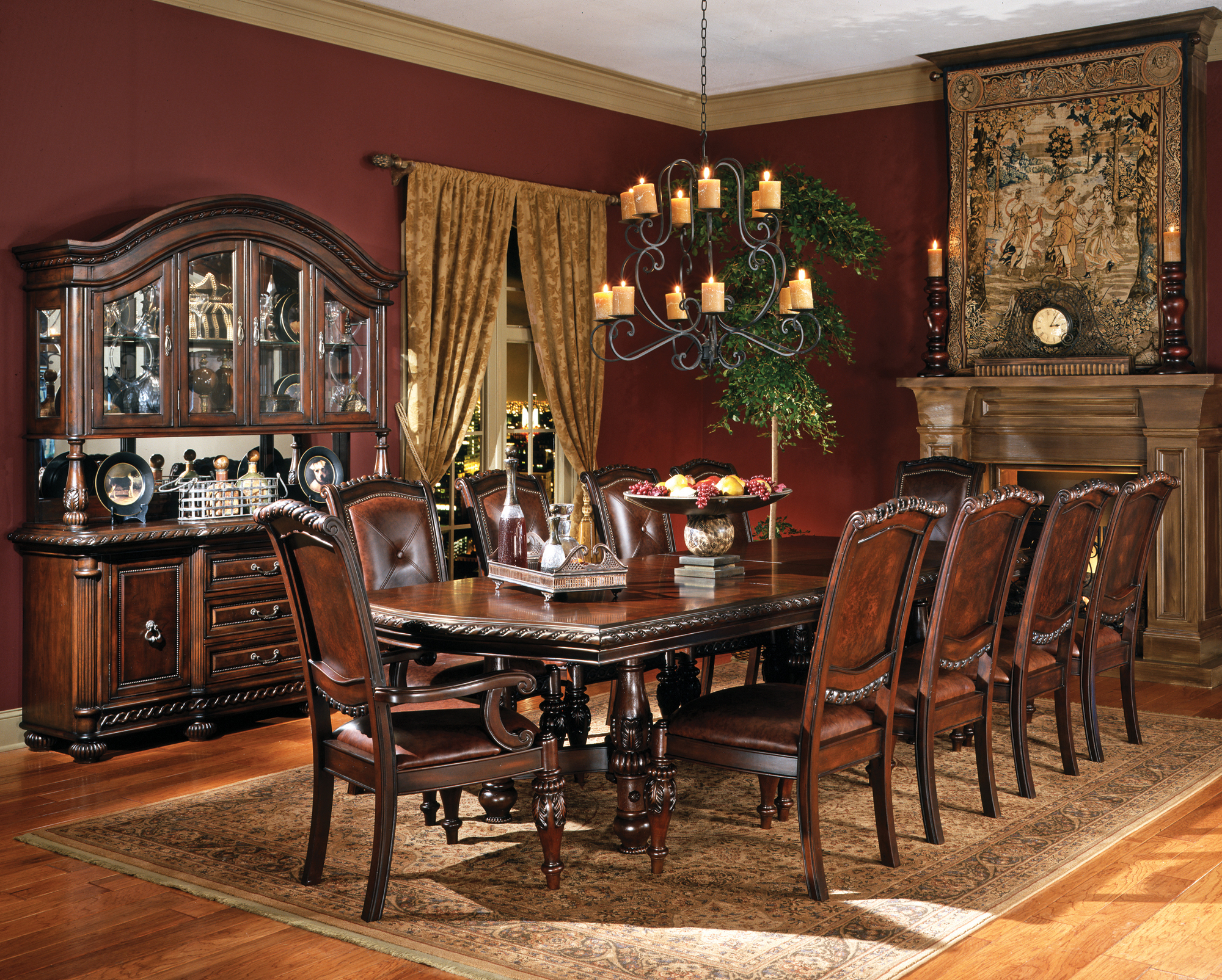 Wonderful Big Dining Room Table 16 Home Ideas