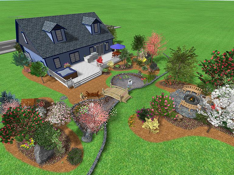 Big Garden Design 12 Decor Ideas - EnhancedHomes.org