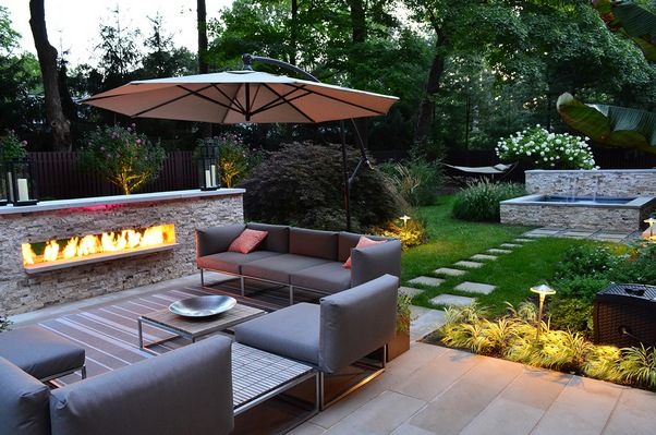 Garden Design: Garden Design with Big Backyard Ideas Mystical ...