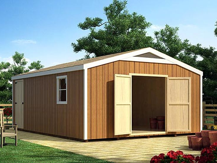 Big Garden Shed 11 Designs