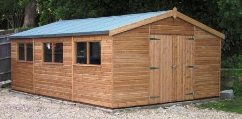 big garden shed 21 design ideas - Garden Sheds Workshops