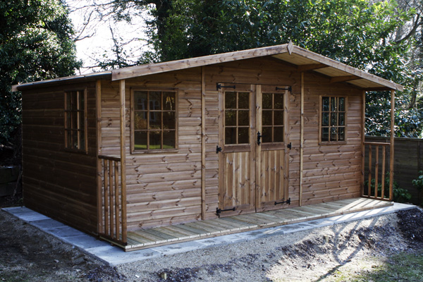 Big Garden Shed 33 Picture