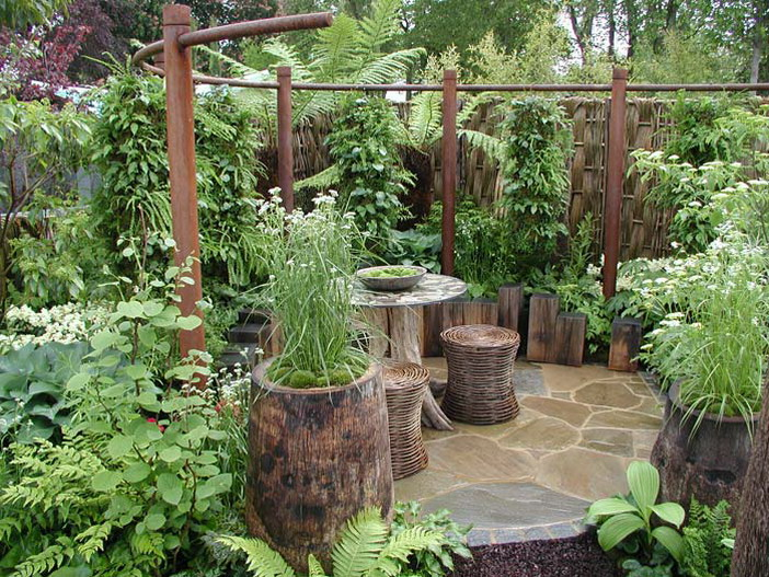 Marvelous Gallery Garden Room Design Ideas Part - 6: Gallery Of Big Gardens In Small Spaces Renovating Ideas With Garden Designs  For Small Spaces Part
