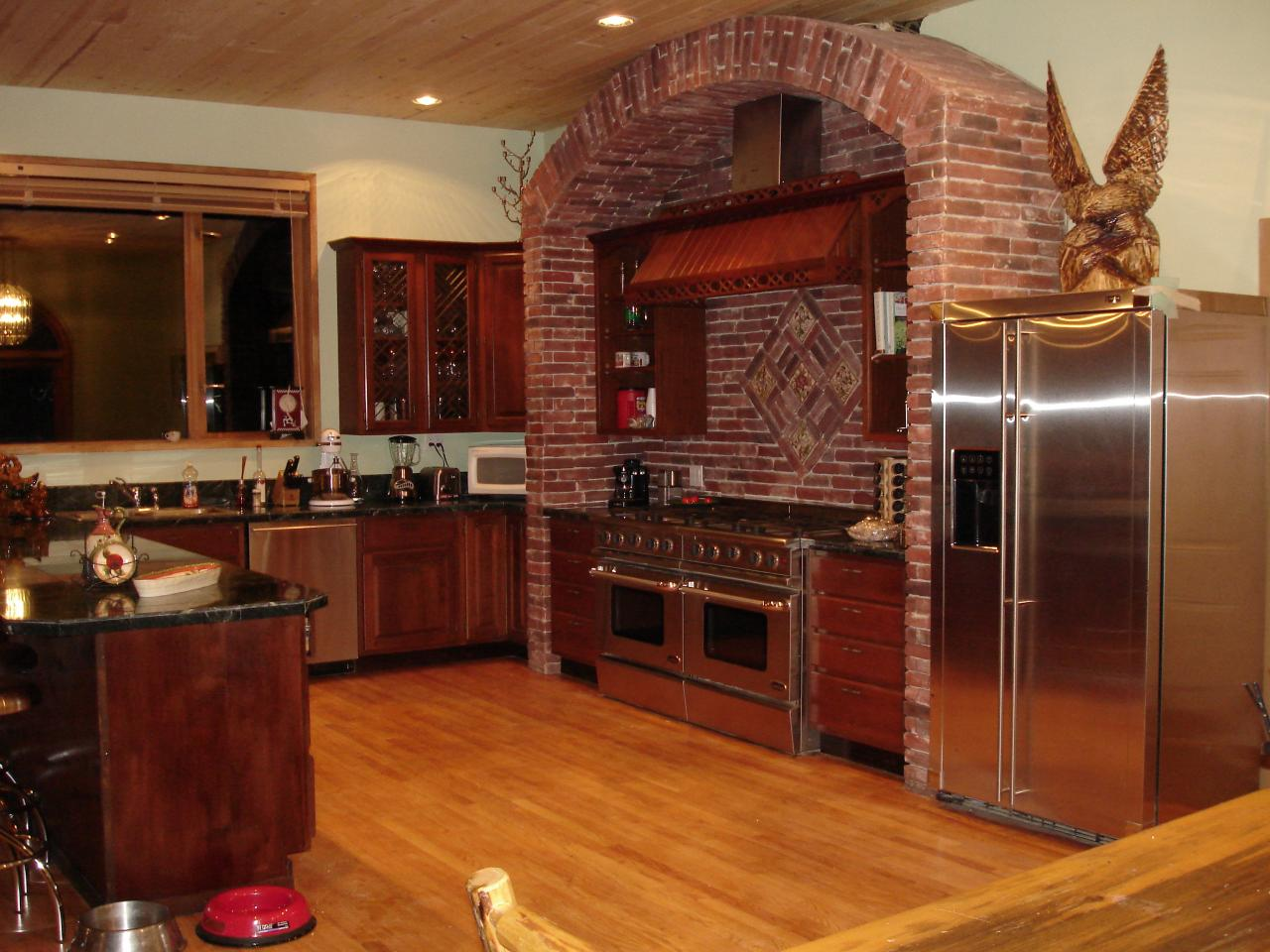 Big houses inside for Kitchen designs big