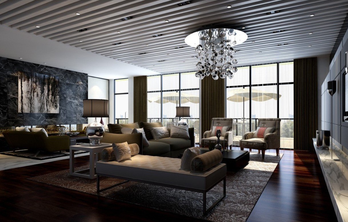 Big living room ideas 14 design ideas for Large living room layout