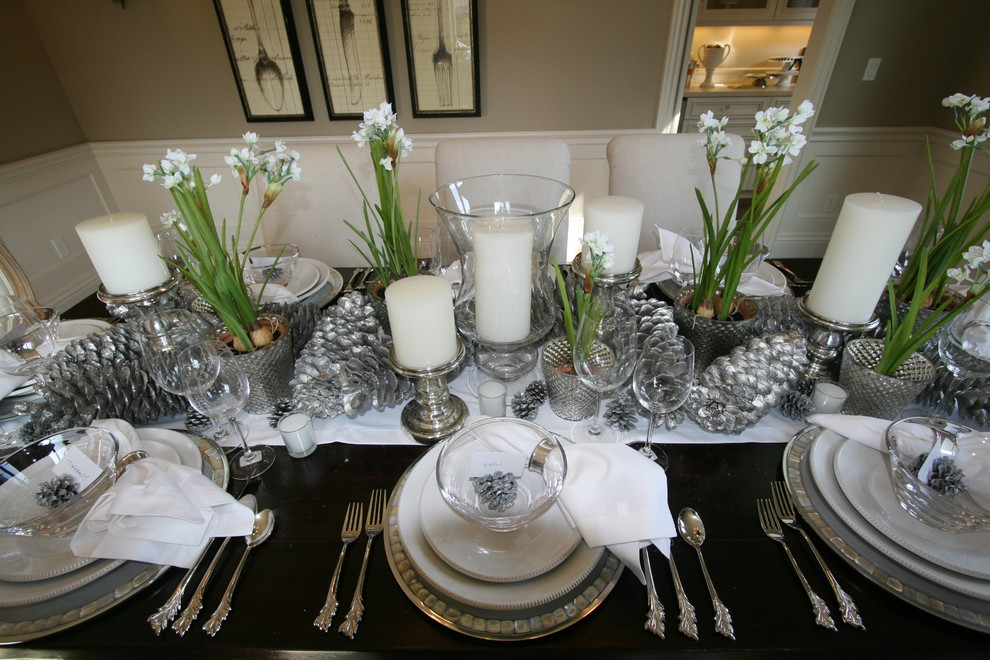 Decorating An Elegant Dining Room 4 Arrangement