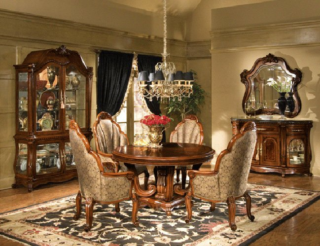 Elegant Dining Table And Chairs 2 Decoration Idea - EnhancedHomes.org