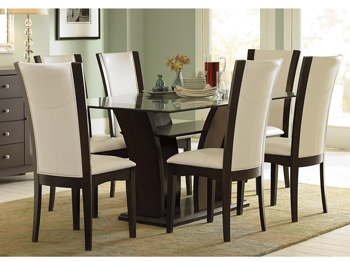 dining room chair sets 6   Elegant Dining Table And Chairs 6 Home Ideas ...