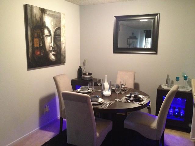 Houzz Small Dining Room 41 Decoration Idea - EnhancedHomes.org