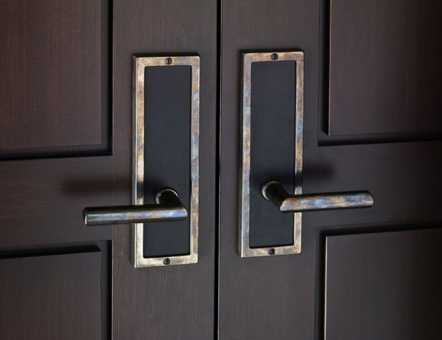Modern Exterior Door Hardware 26 Home Ideas - EnhancedHomes.org
