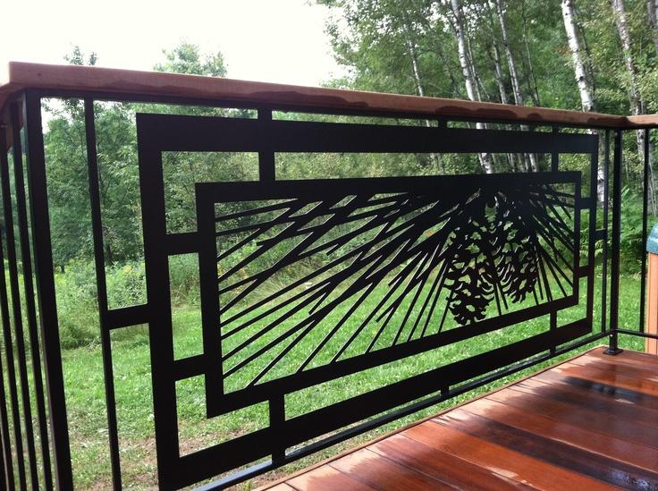 Modern exterior railings 1 decoration inspiration for Exterior balcony design