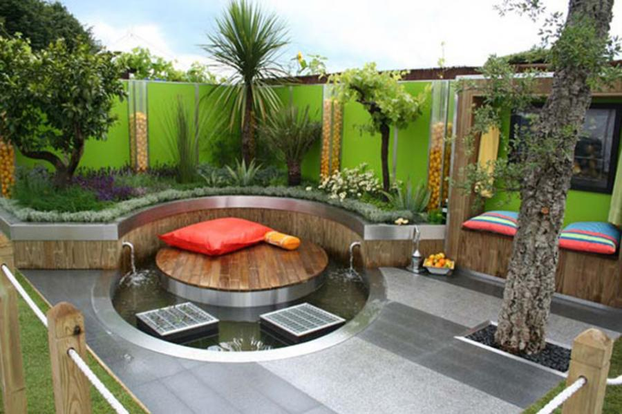 Modern Garden Decorations Home Decorating Ideas