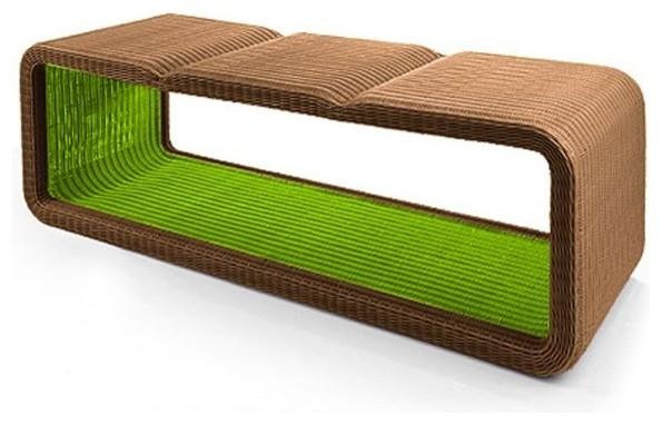 Modern Garden Bench Renovating Ideas