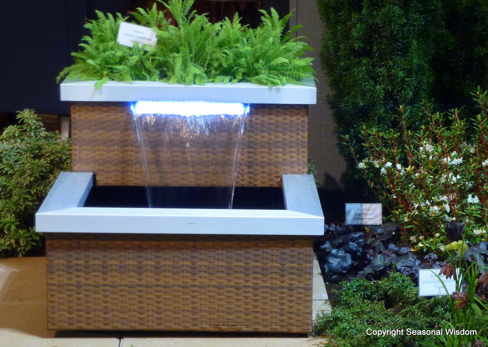Modern Garden Fountains 19 Arrangement Enhancedhomes Org