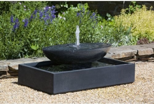 Charming Modern Garden Fountains Re Decorating Ideas