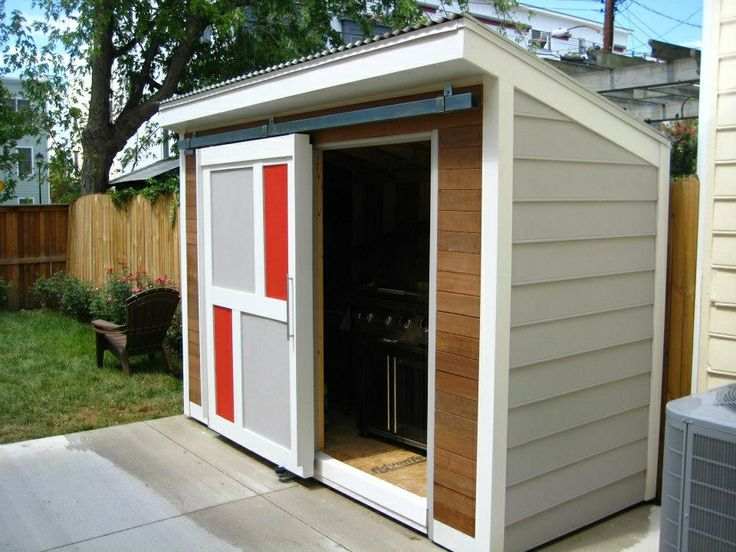 Modern Garden Shed Renovating Ideas