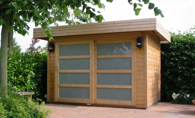 modern garden shed Re decorating ideas Modern Garden Shed 24 Design Ideas  EnhancedHomes org