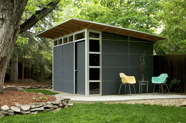 Modern outdoor shed design