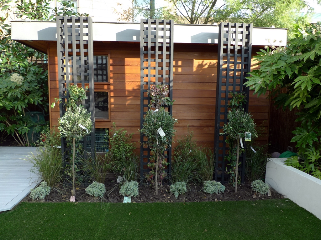 Trellis Decoration Ideas Part - 22: Modern Garden Trellis Re-decorating Ideas